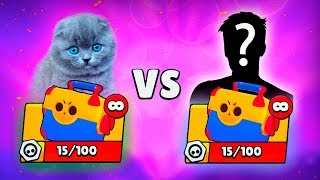 BATTLE MEGABOX - BARSIK AGAINST THE PHARAOH IN BRAWL STARS!