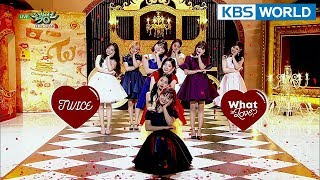 Download TWICE (트와이스) - What is Love? [Music Bank HOT Stage / 2018.04.13]