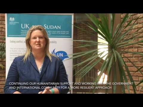 Top priorities for the UK in Sudan this year