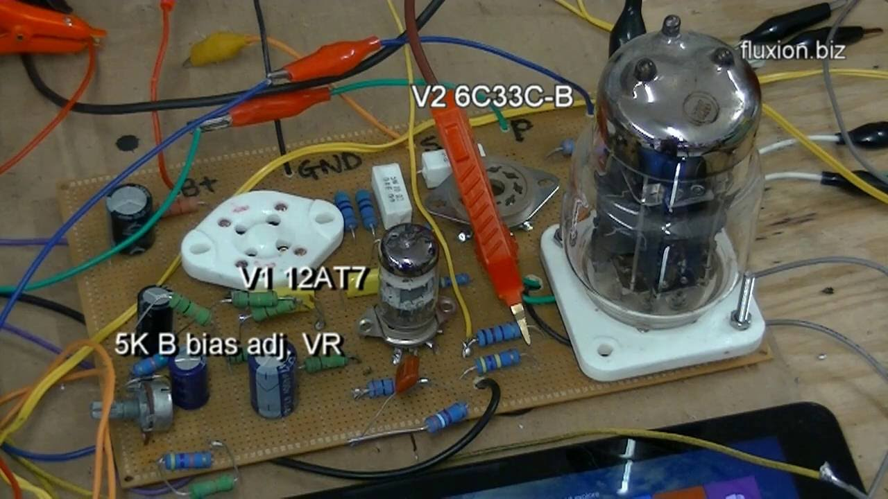6c33c B Se Tube Amp Amplifier Prototype Building And