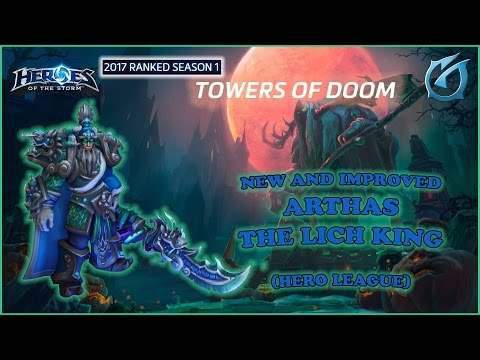 Grubby | Heroes of the Storm - New Arthas - The Lich King - HL S1 2017 - Towers of Doom