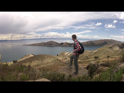 Copacabana, Isla del Sol & Isla de la Luna - Lake Titicaca in Bolivia (Travel Video Blog 040)