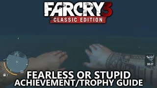 Far Cry 3 Classic - Fearless or Stupid Achievement/Trophy Guide - Dive more than 60m