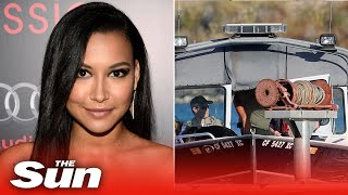 Glee star naya rivera has been found dead five days after she leapt into a lake in front of her young son.the remains were frantic search for t...