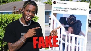 Download We Fooled the Internet w/ Fake Travis Scott Cheating Photo Mp3 and Videos