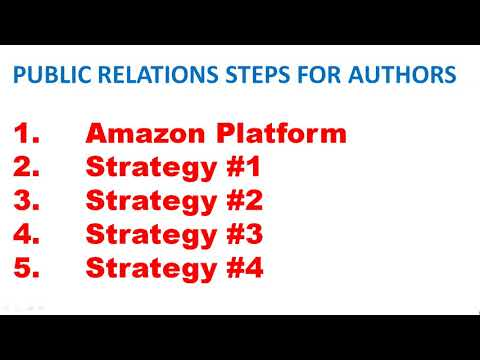 Book Marketing Part 7: Author Public Relations : Public Relations for Authors Starts Here
