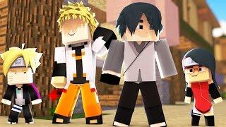 Minecraft: BORUTO - NARUTO E SASUKE APOIAM O NAMORO DE BORUTO E SARADA #27