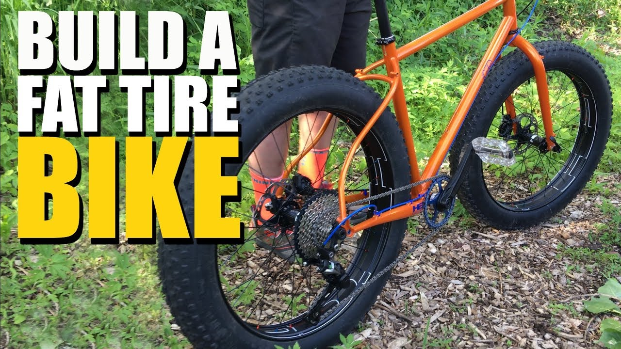 How To Build A Fat Tire Mountain Bike Youtube