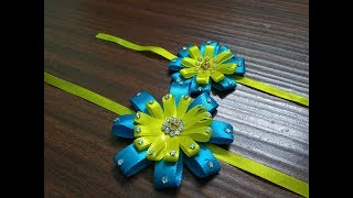 DIY: Raksha Bandhan with satin ribbon | Handmade Rakhi @ home