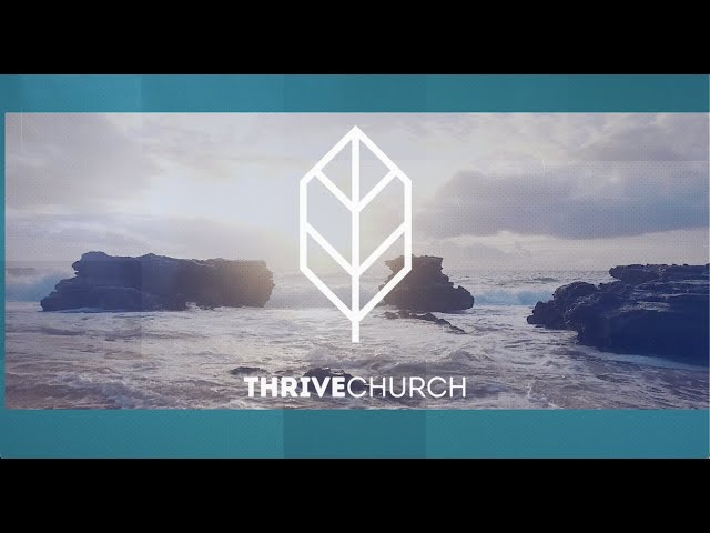 Thrive Church Online | 10th January | Anne Rowlands