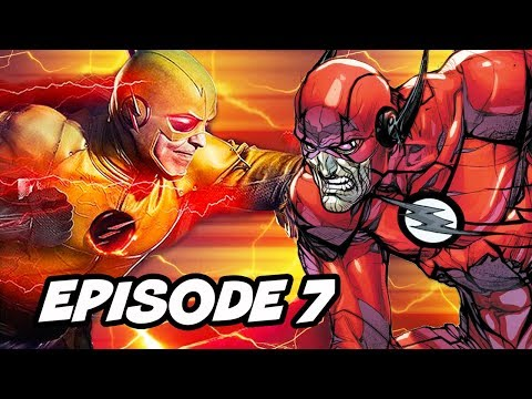 The Flash Season 6 Episode 7 Negative Flash - TOP 10 WTF And Easter Eggs