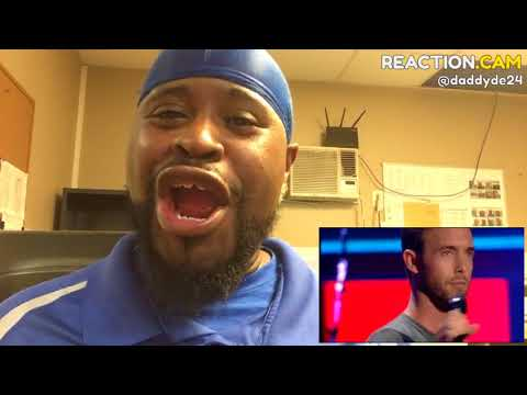 Charly Luske - This Is A Man's World (The Blind Auditions | The voice of H… – REACTION.CAM