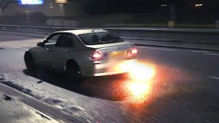 Tuner Cars ARRIVING at Reading Japanese Meet - December 2019