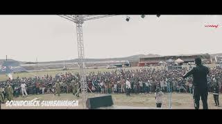 RAYVANNY-SOUNDCHECK WASAFI FESTIVAL SUMBAWANGA