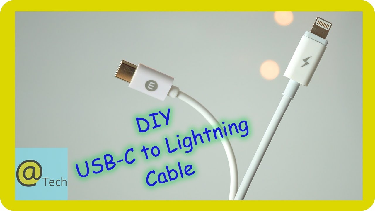 [ZTBE_9966]  Making a DIY USB-C to Lightning Cable - YouTube | Pin Iphone Cable Wiring Diagram |  | YouTube
