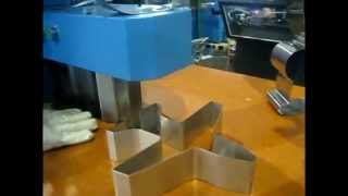 Plane Curve by TPS stainless Steel Channel Letter Bending Machine