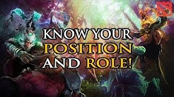 DotA 2 Guide to Competitive Positions Explained - Know your Role!