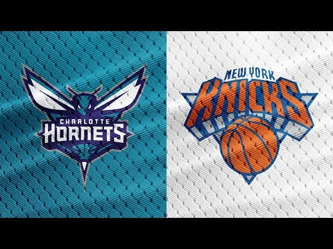 Charlotte Hornets Vs New York Knicks Live Play By Play & Reaction!