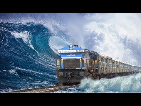 समुद्र के ऊपर चलती है ये गज़ब की Train   Top 5 Dangerous And Unique Railway Routes
