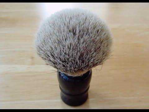 whipped dog 24mm silvertip badger brush youtube
