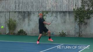 Stephan Lhuillier- College Tennis Recruiting Video for Fall of 2019 (taken May 2017)