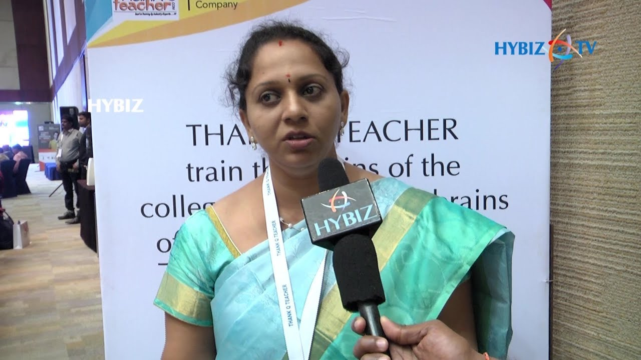 Hema Chowdary about Thank Q Teacher National Corporate Campus Conference 2017