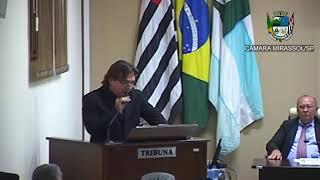 15ª Sessão Ordinária - Vereador Beto Feres