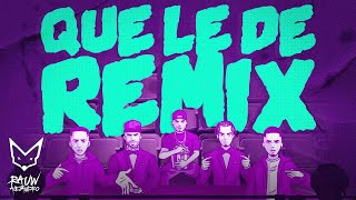 Rauw Alejandro ❌Nicky Jam❌ Brytiago ft. Justin Quiles, Myke Towers Que Le Dé Remix (Lyric Video)