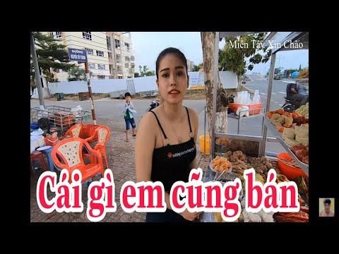 Hot Girl Quảng Trường Võ Nguyên Giáp  – Miền Tây Xin Chào