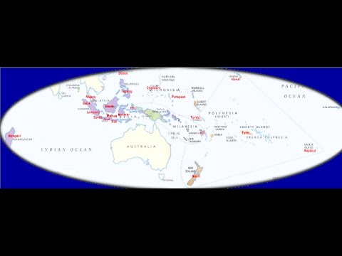 Austronesian Language Group - Ancienity of some words