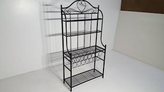 Kitchen organizer - storage rack