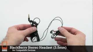 BlackBerry Stereo Headset (3.5mm)