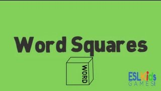ESL Game : Word Squares