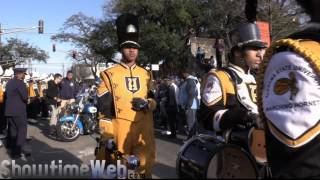 Southern University vs Alabama State Marching Band - 2017 Mardi Gras Parade