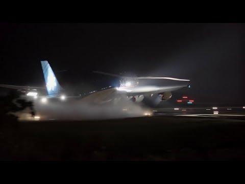 Air Tahiti Nui (F-OSUN). Vol TN622. Décollage de Tahiti vers Los Angeles. 21h20. 03/02/2018