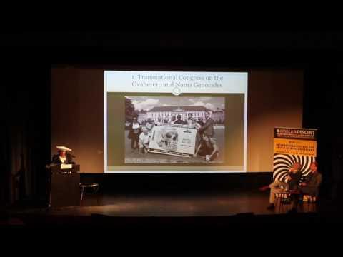 [#3]Ovaherero and Nama Genocide Congress in Berlin 2016: Esther Muinjangue
