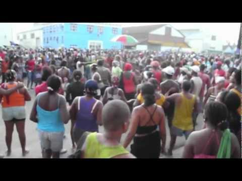 Santiago de Cuba - music, culture: big and little conga