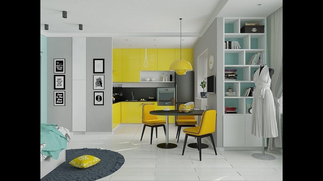 2 zimmer wohnung 2 zimmer wohnung einrichten design ideen youtube. Black Bedroom Furniture Sets. Home Design Ideas