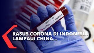 Kasus Corona di Indonesia Lampaui China, Ini Penjelasannya