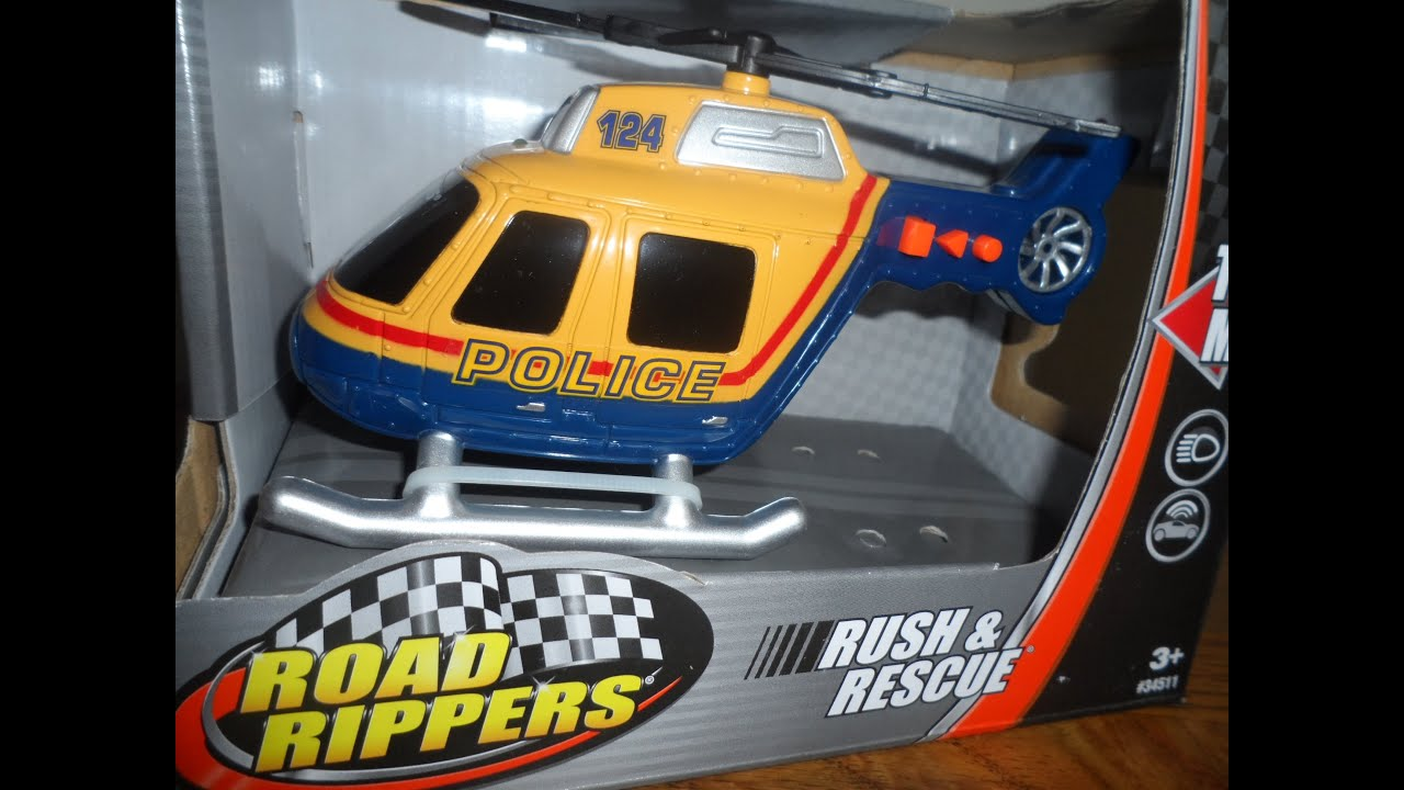 worlds best rush amp rescue toy police helicopter toy lights