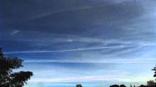Mirky skies and jet trails timelapse (part 2/2) V12113b