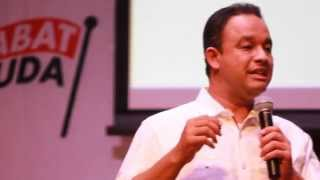 Anies Baswedan's Great Speech : Mengapa Jokowi ?