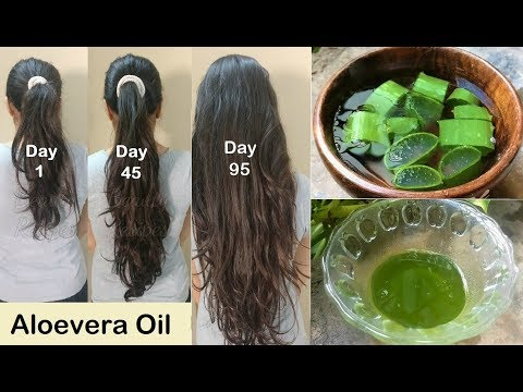 My Grandma's Secret Recipe for Double Hair Growth - Aloevera Hair Oil to get Long hair, No Hair Fall