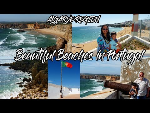 Places to see in Albufeira, Lagos and Sagres Portugal / Beautiful beaches in Algarve Region