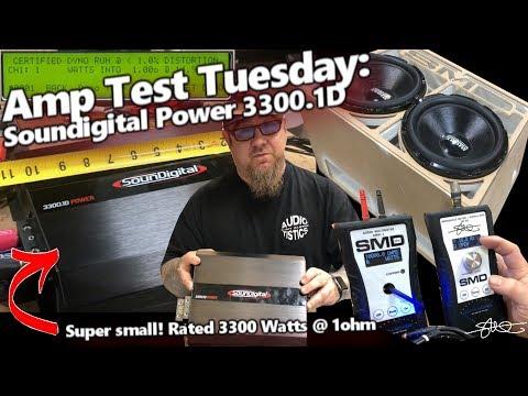 Amp Test Tuesday - Soundigital Power 3300 1D - Small Amp BIG