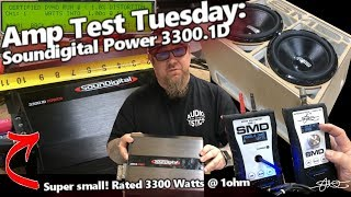 Amp Test Tuesday - Soundigital Power 3300.1D - Small Amp BIG BALLS! 24