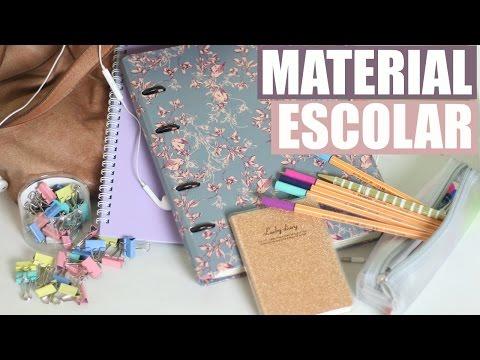 Material Escolar 2017 // Faculdade