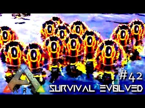 ARK: SURVIVAL EVOLVED - TURKEY DAY BATTLE vs 91 DodoREX ORIGINS !!! E42 (MODDED ARK CENTER GAMEPLAY)