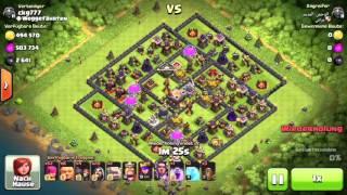 Clash of Clans Beste Rathaus Level 11 Verteidigung 2016 Deutsch [HD]