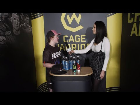 Cory McKenna post-fight interview at Cage Warriors 104